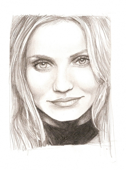 Cameron Diaz by cilou